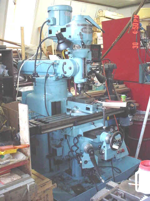 Ammco Brake Lathe >> 1984 Wells Index Manual Mill